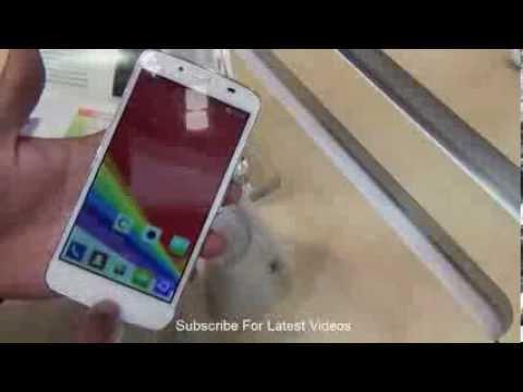 Gionee CTRL V5 & LTE 4G Phone At MWC 2014