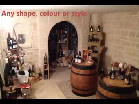 Wine Cellar in Stone. Anywhere
