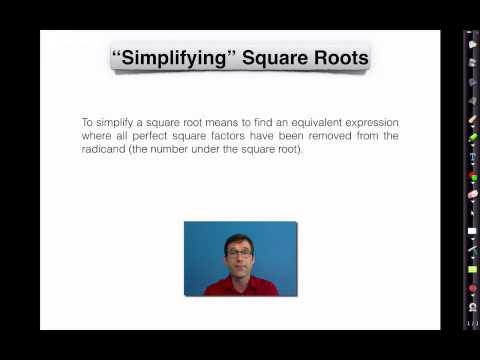 Common Core Algebra I.Unit #9.Lesson #1.Square Roots