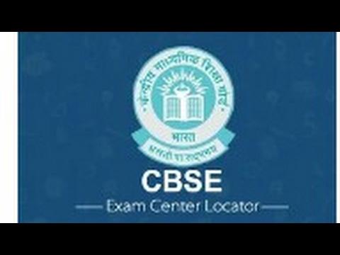 Find your exam center CBSE