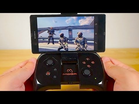 MOGA Pocket Gamepad Review - Make an Android Phone a Game Console