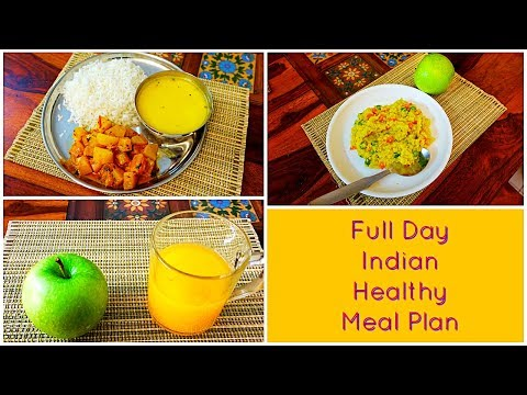 Full Day Weight Loss Indian Healthy Meal Plan | Arpita Nath