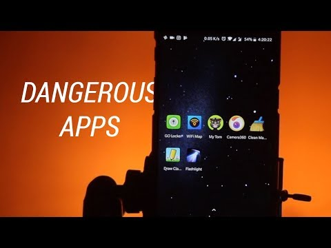 7 Dangerous Apps for Android!