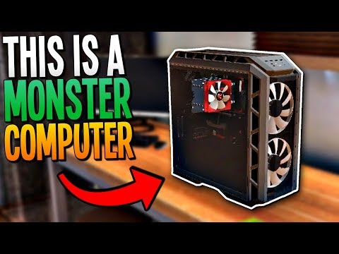 BUILDING A PC THAT CAN RUN THE MOST RESOURCE INTENSIVE GAME EVER - PC Building Simulator Gameplay
