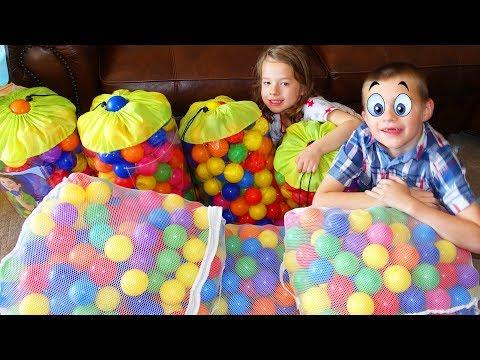 Soooooo MANY Ballpit Balls!!!!