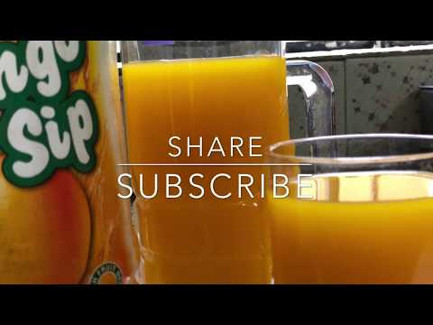 FROOTI RECIPE: MANGO FROOTI AT HOME- How to make mango frooti at home.