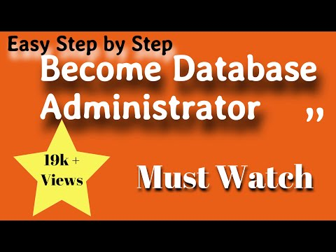 How to become Database Administrator DBA- Easy Steps