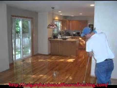 Calgary Hardwood Floor Refinishing