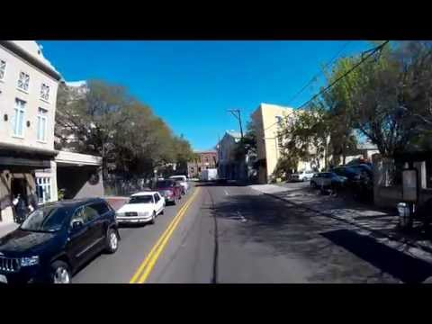 Tour of Charleston, SC  Bus view