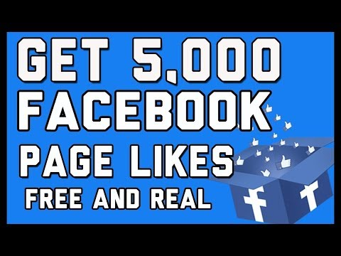 How to get 5000 likes on facebook page free in 1 minute