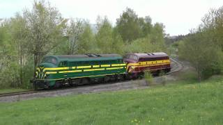 Mercia Charters - NMBS/SNCB 5404 en ex-CFL 1604 in Luxemburg