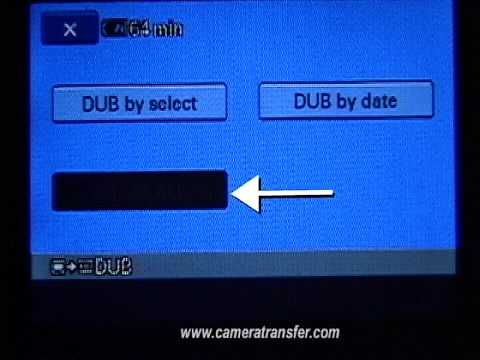 camera transfer to SD Memory card