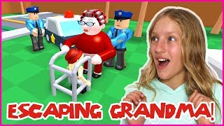 Escaping Grandmas House OBBY!
