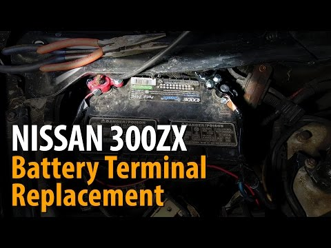 Nissan 300ZX Z32 racecar build EP 7 | Battery Terminal Connector Replacement