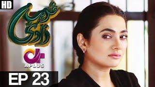 Ghareebzaadi - Episode 23   A Plus ᴴᴰ Drama   Suzzaine Fatima, Shakeel Ahmed, Ghazala Kaife