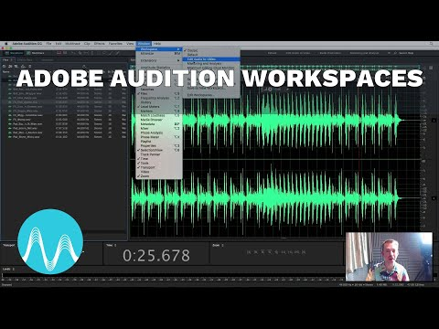 Adobe Audition Workspaces