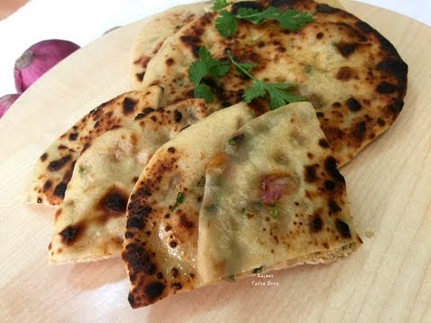 Onion Kulcha | ഒണിയൻ കുൽച
