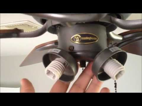 How to repair pull chain light switch in ceiling fan