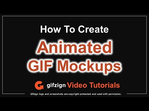How to Create Animated GIF Mockups in Gifzign