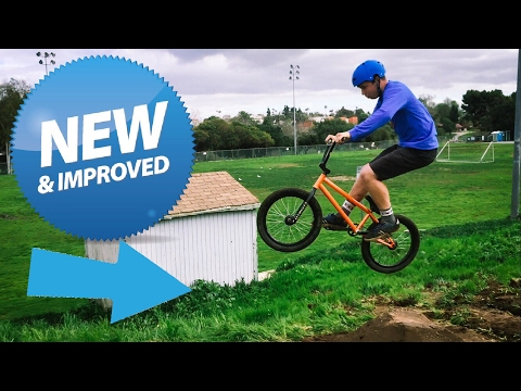 TESTING THE NEW DIRT JUMPS