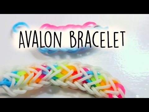 Hook Only Avalon Bracelet | Rainbow Loom Tutorial
