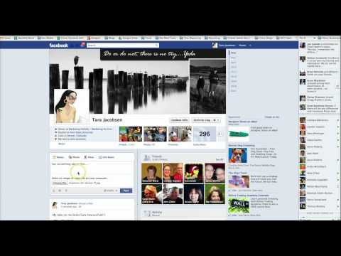 Facebook Marketing - How To Edit A Post!