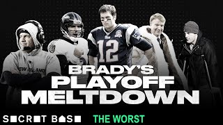 The worst Tom Brady playoff game was a turnover fiesta that should've been called after 15 minutes