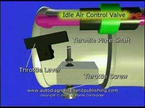 TPS or Throttle Position Sensor Adjustment 1
