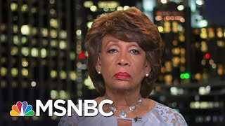 maxine waters keep eye on sanctions all in msnbc