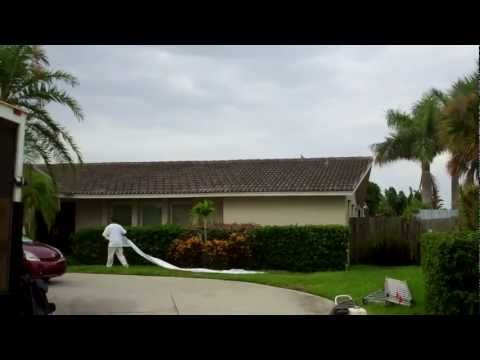 Tile Roof Cleaning St Pete Florida 727-483-8177