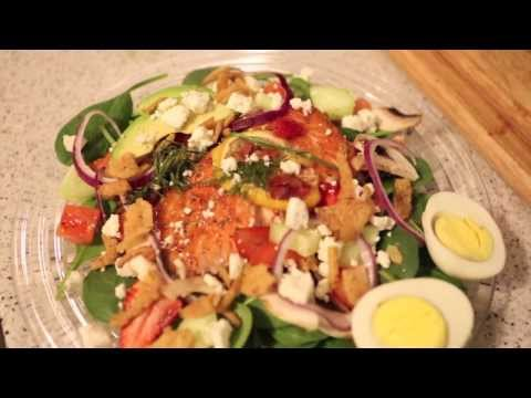 How to: Smoked Salmon Salad