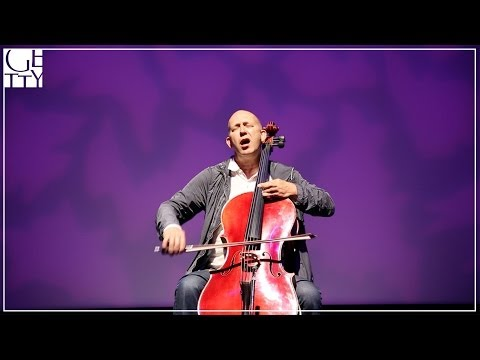 Ernst Reijseger Plays the High & Low Notes of his Five-String Cello