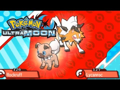 Pokemon Ultra Moon - Evolving my Special Rockruff into Dusk Lycanroc (5-6pm game time)