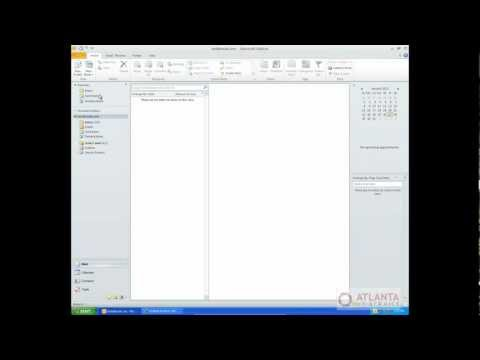 Archiving in Outlook 2010 : Tutorial