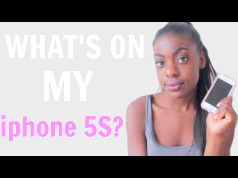 WHAT'S ON MY IPHONE 5s?!