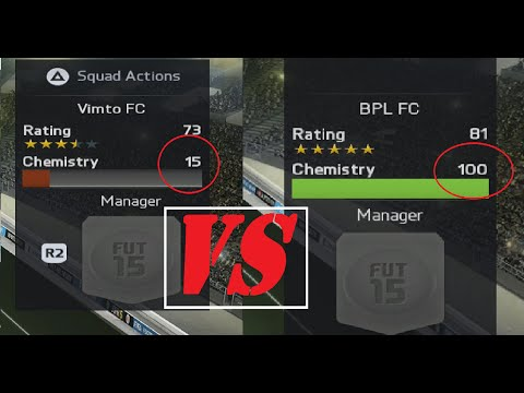 FIFA 18 | Chemistry Test: How Much Does It Matter?
