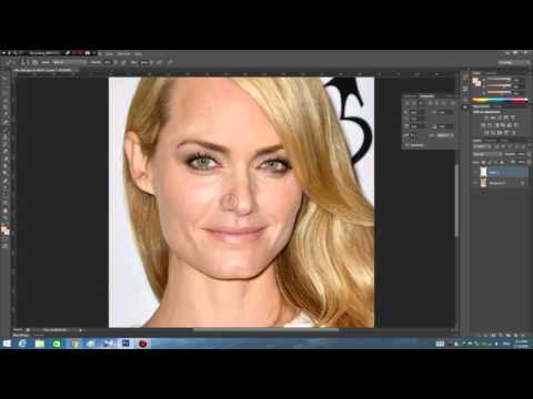 How to fix oily skin in photoshop