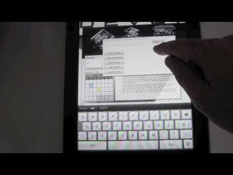 HTML5 Demo on iPad