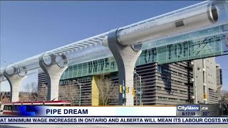 TransPod Hyperloop faster, cheaper than high-speed rail, Toronto startup says