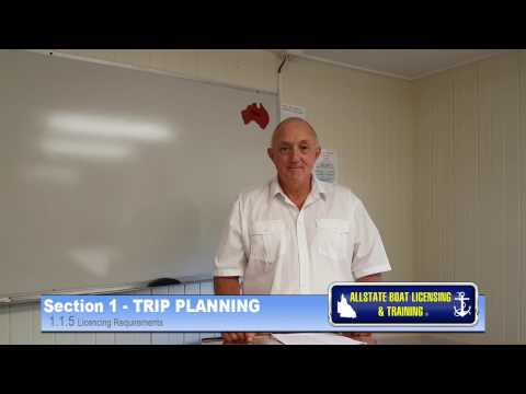 Boat Licence Qld - Allstate Boat Licensing & Training course Section 1.1.5