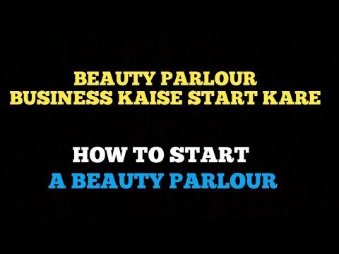 [Hindi] Beauty Parlour Business Kaise Start Kare   How to Start Beauty parlour   Small Business idea