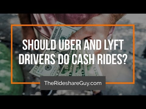 Should Uber and Lyft Drivers Do Cash Rides?