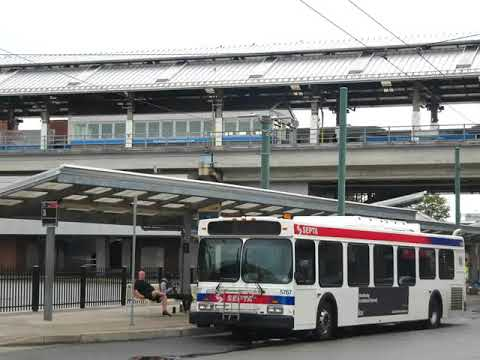 SEPTA Audio: 2002 New Flyer D40LF on route 3 to FTC