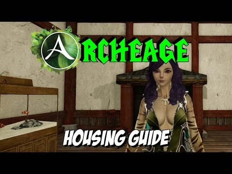 Archeage : Basic Housing Guide