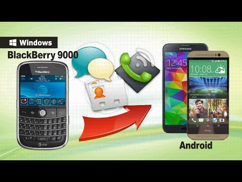 [BlackBerry to Android Transfer]: How to Switch from BlackBerry 9000 to Android Phone or Tablet?