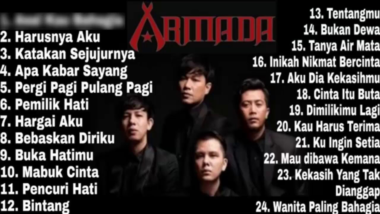 Download Armada Full Album - Tanpa Iklan - Armada Band Full Album 2020 - Asal Kau Bahagia - Awas Jatuh Cinta MP3 Gratis