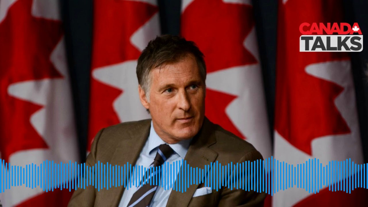 Maxime Bernier Leader of People's Party of Canada joins Andrew Krystal