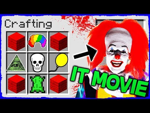 Minecraft IT - How to Summon PENNYWISE in Crafting Table!