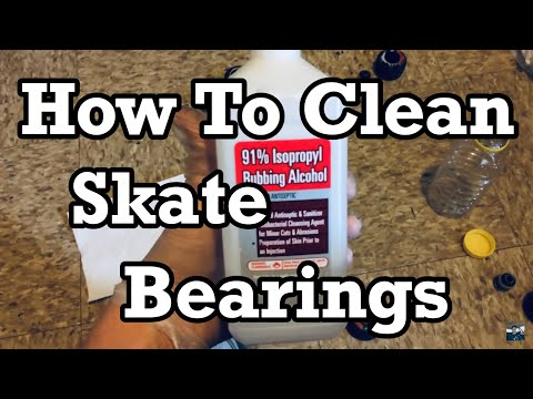 How To Clean Your Skateboard Bearings