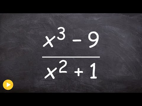 Divide two polynomials using long division